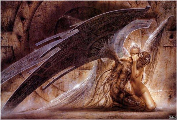 ANGEL Y DEMONIO HERIDO