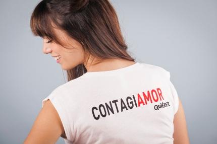Camiseta Quiérete Contagia Amor