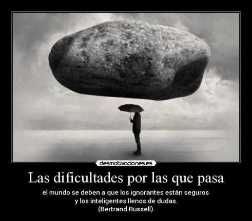 dificultad