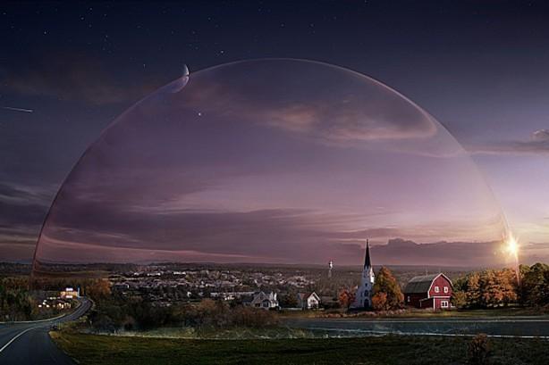 burbuja de cristal